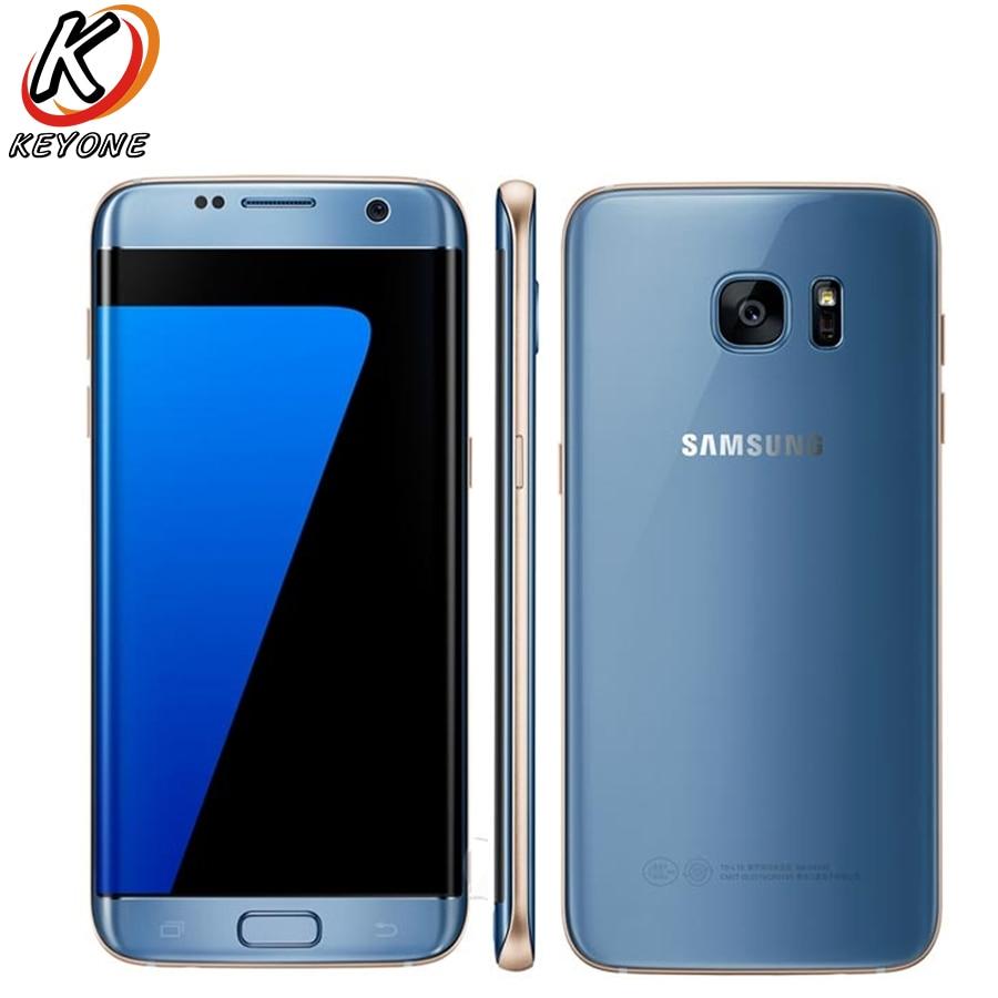 D'origine Samsung Galaxy S7 Bord G935FD LTE Mobile Téléphone 5.5 Octa Core 4 gb RAM 32 gb ROM 12MP 2560 x1440px Android Téléphone Intelligent