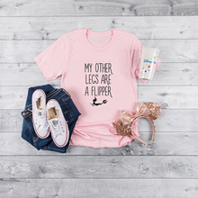 My Other Legs Are A Flipper Women t shirt 2019 new hipster funny white female t-shirt fashion Girl clothing femme streetwear
