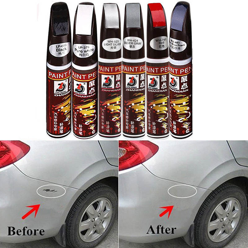Hot Car Auto Paint Pen Coat Scratch Clear Repair Remover Applicator Non-toxic Durable Tool BX