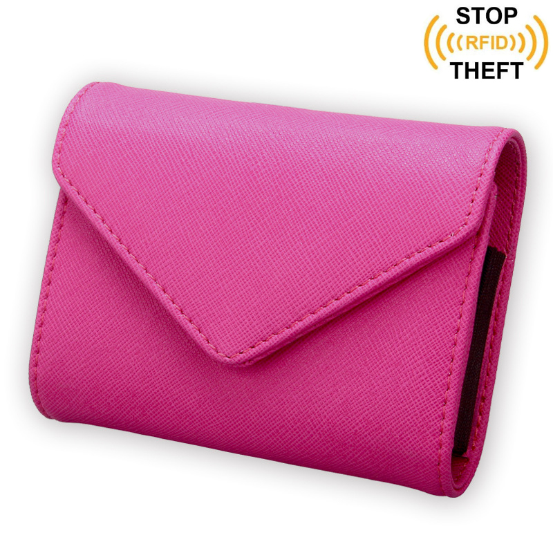 Women Credit Card Holder Rfid Purses New Leather Business Card Name ...