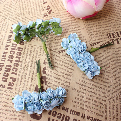 15cm artificial tissue paper flowersmini paper roses flower 15cm artificial tissue paper flowersmini paper roses flower bouquets for diy bridesmaid bouquetcorsagegarland accessories in artificial dried flowers mightylinksfo