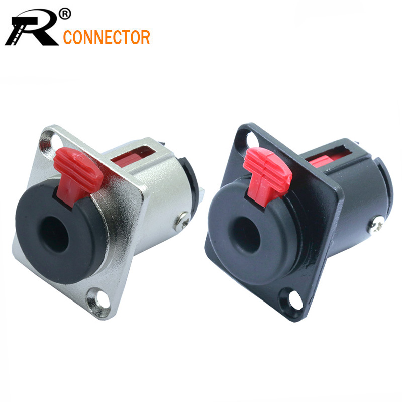 TRS Stereo Male Plug to 3-Screw Terminal Block Connector 6.3mm 1//4/""