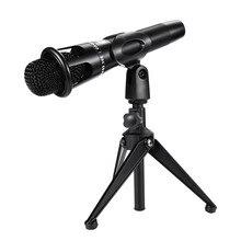 2019 Fashion Condenser Pro Audio E300 Microphone High output Low self-noise Sound Studio Dynamic Mic+Shock Mountfor for studio