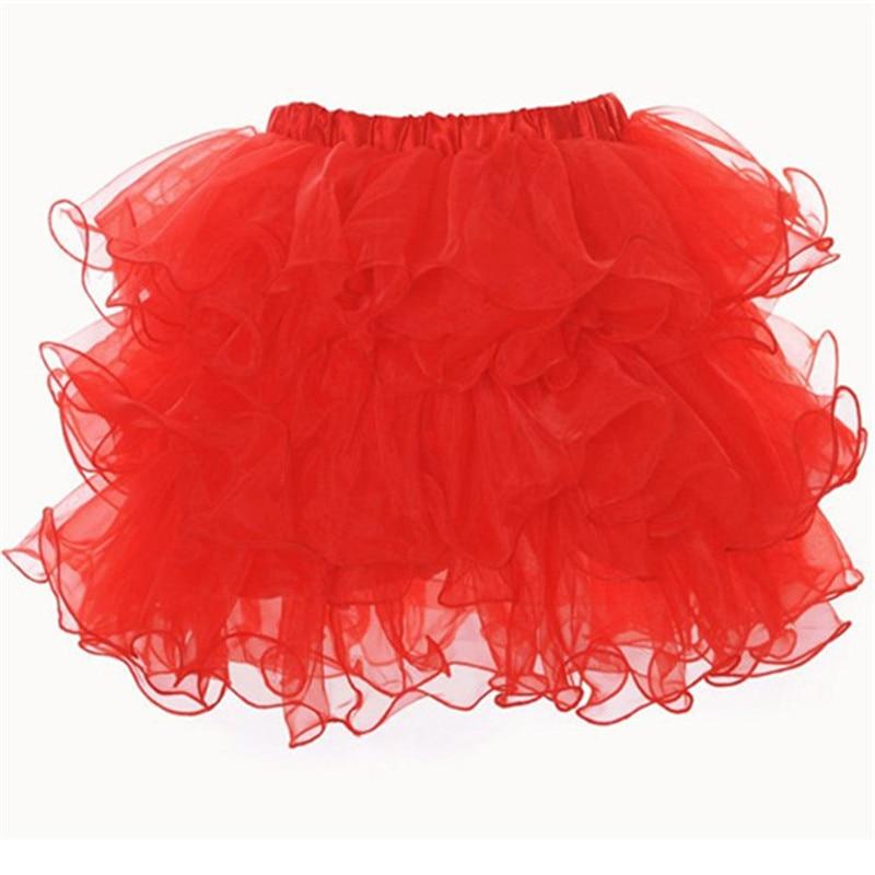 Vocole Women Girl's 6 Layered Ballet Dance Skirt Corset Tutu Skirt Costume Petticoat Ball Gown