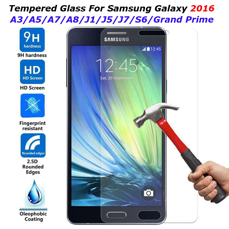 film for samsung galaxy s6 grand prime g530 a3 a5 a7 j1 mini j3 j5 j7 ...