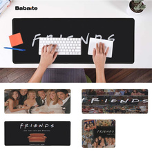 Babaite New Design friends tv show Natural Rubber Gaming mousepad Desk Mat Free Shipping Large Mouse Pad Keyboards