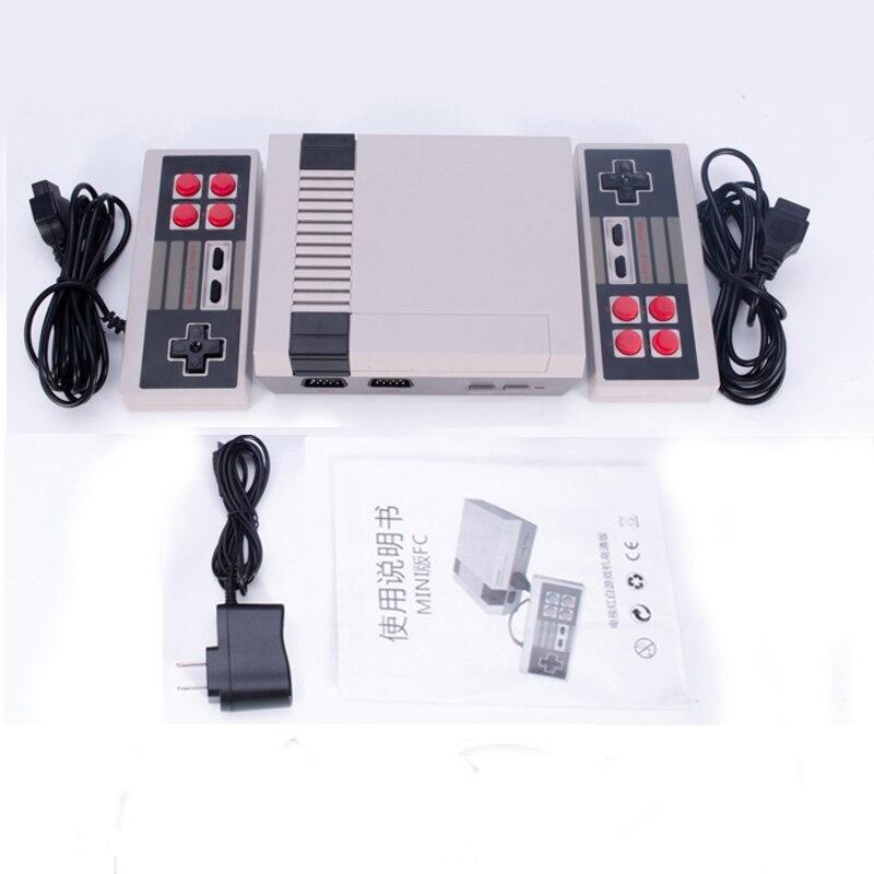 Mini Video Game Console 8 Embutido 500/600 Jogos Bit Retro Video Game Console de Jogos Portátil Jogador Melhor Presente