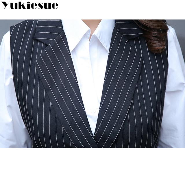 XL-9XL 2018 new Korean version of the fertilizer plus size women's long section lapel vest 200 pounds women coat  long vest