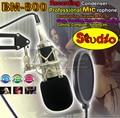 Профессиональный БМ-800 Конденсаторный Микрофон Микрофон Майк Микрофон PC Studio Запись Микрофон Для Трансляции Компьютер & Shock Mount