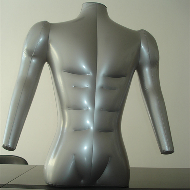 Free Shipping !!New Arrival Inflatable Mannequin Torso Inflatable Manikin Body For inflatable  upbody with hand  for Display mannequin