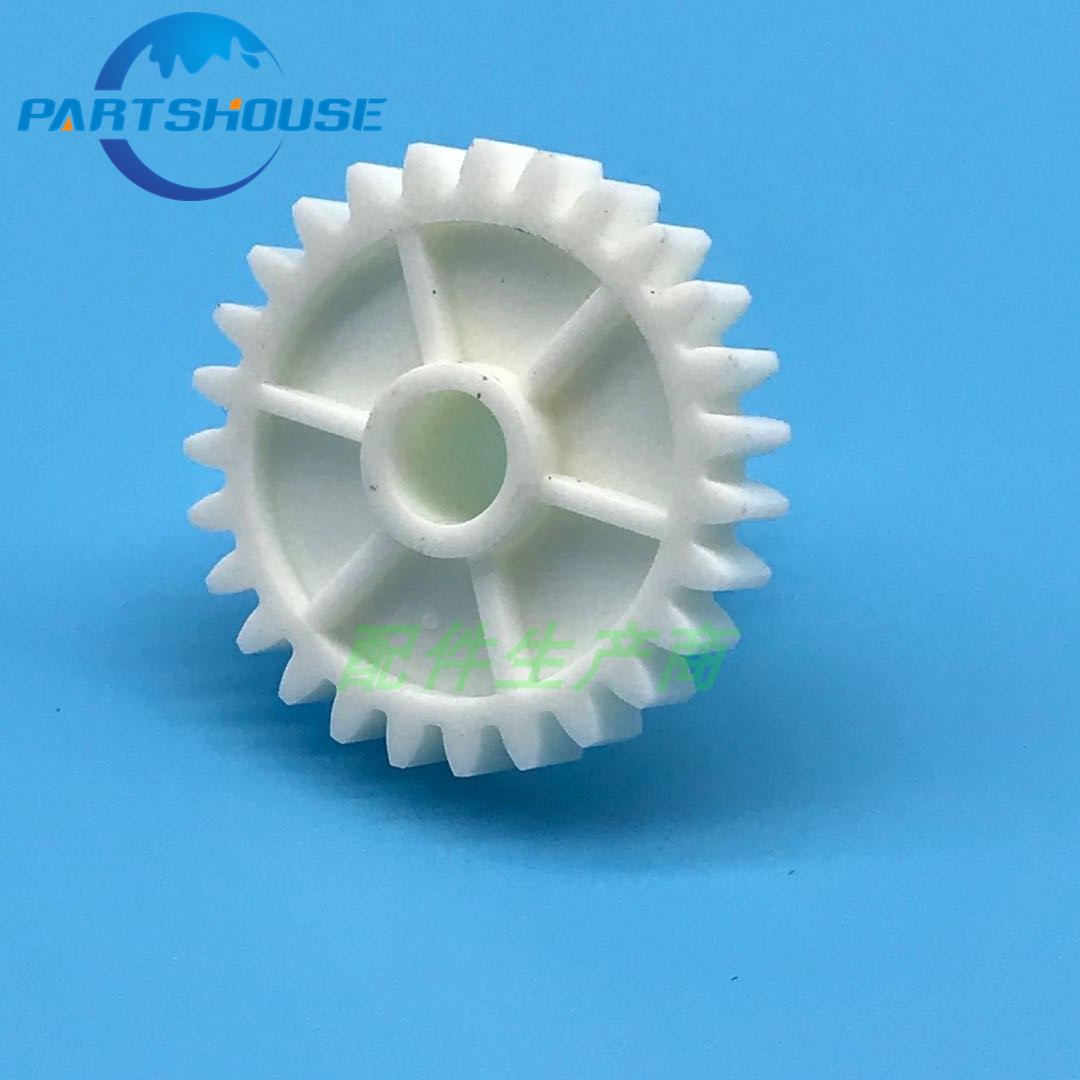 5Pcs Copier parts Double gear 12T 27T AB01-7514 For Ricoh MP9000 1100 1350 1356 1357 1106 <font><b>1107</b></font> Toner <font><b>motor</b></font> gear,Pink bottle gear image