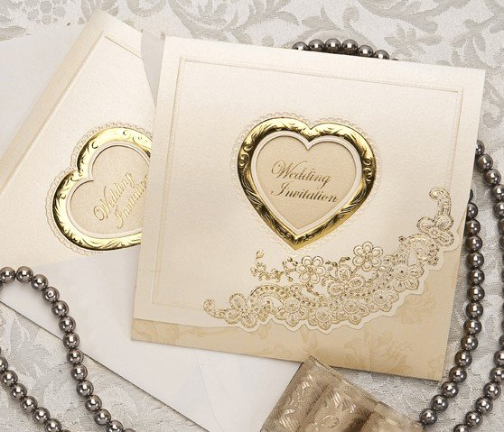 Customize Invitation Card Wedding Cards B0007 Favors Come With Envelope Free Shipping On Aliexpress Com Alibaba Group