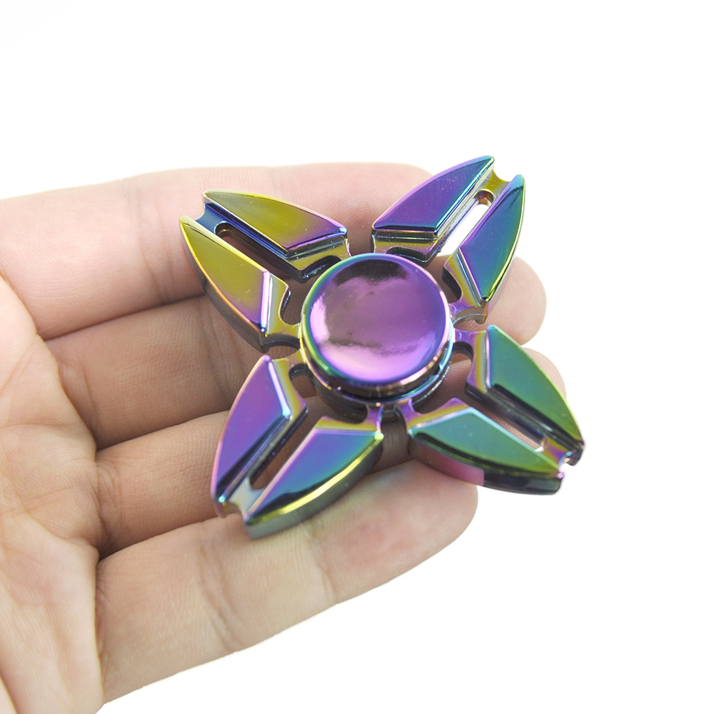 Anti-Anxiety Spinner Focusing Fidget Toys EDC Focus Toy for Kids & Adults-Best Stress Reducer ADHD Anxiety Bearing Hand Spinner pudcoco metal boys girls rainbow fidget hand finger spinner focus edc bearing stress toys kids adults