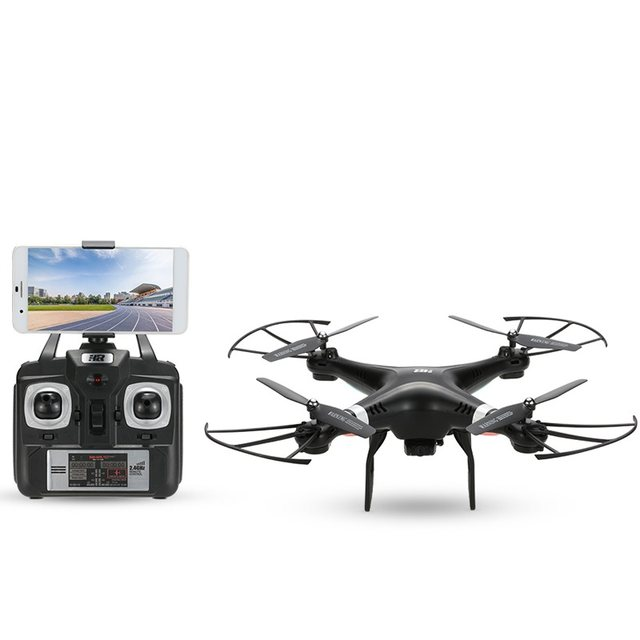 Online shop wifi fpv rc drone sh5w with hd camera real time wifi fpv rc drone sh5w with hd camera real time transimission 24g 4ch headless mode remote control rc quadrocopter rtf drone altavistaventures Gallery