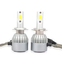 C6 LED Headlight Bulbs 12V 36W 3800LM COB Lamp IP65 Auto Headlamp H4 H7 H1 H3 H11 H13 880 9004 9005 Hb3 9006 Hb4 9007 Light Bulb(China)
