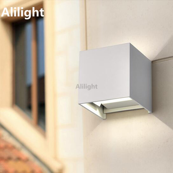 Popular cube wall light buy cheap cube wall light lots - Applique murale led a pile ...