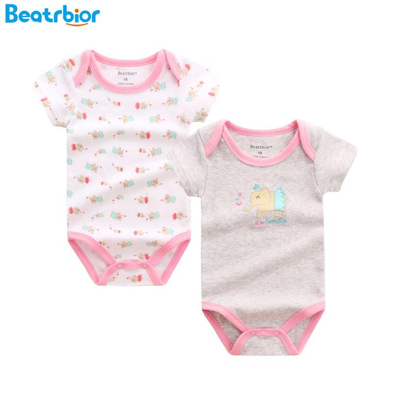 Baby Rompers Summer Short Sleeve Baby Wear Infant Jumpsuit Boys Girls Clothes Roupas Bebes Infantil Baby Clothing for Newborn newest 2016 summer baby rompers clothing short sleeve 100