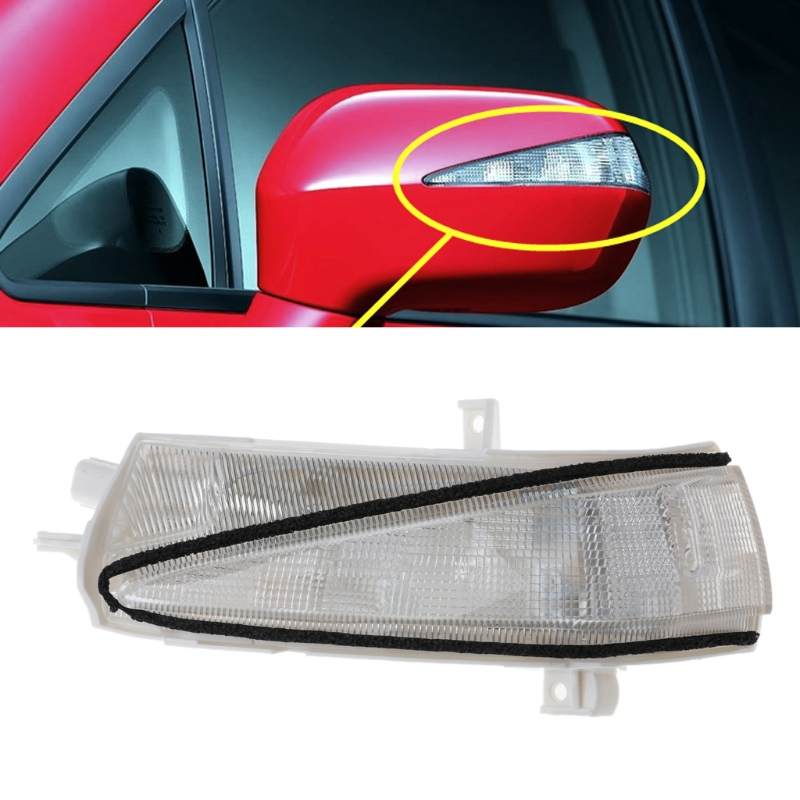 Left/Right Side Rearview Mirror LED Turn Signal Flasher Light For Honda Civic FA1 2006-2011