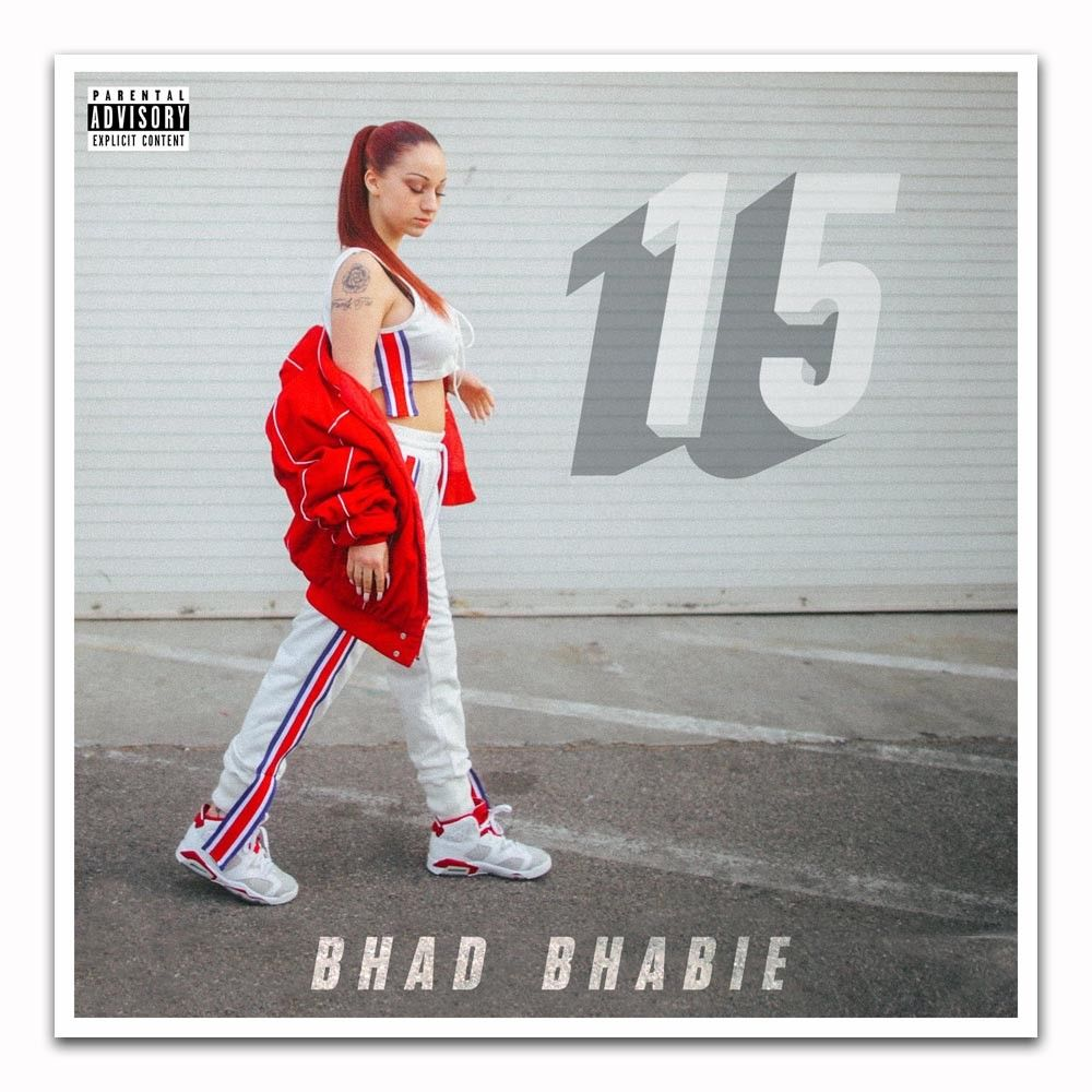 Art Bhad Bhabie 15 Cash Me Outside Pop Rap Music Album Custom Light Canvas Poster Wall Decoration 14x14 24x24 27x27inch C-343