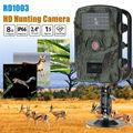 "Free shipping!Boblov RD1003 8MP 2.4"" LCD Waterproof PIR 15 meters Night Vision IR Game Hunting Trail Security HD Camera Cam DVR"