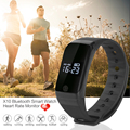X7 Bluetooth Heart Rate Monitor de Esporte Smartwatch Inteligente Band IP67 À Prova D' Água Pulseira Pulseira Inteligente para IOS Android PK ID107