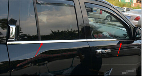 Stainless Bottom window Decorative sill Trim 4pcs for JEEP COMPASS 2011 2015