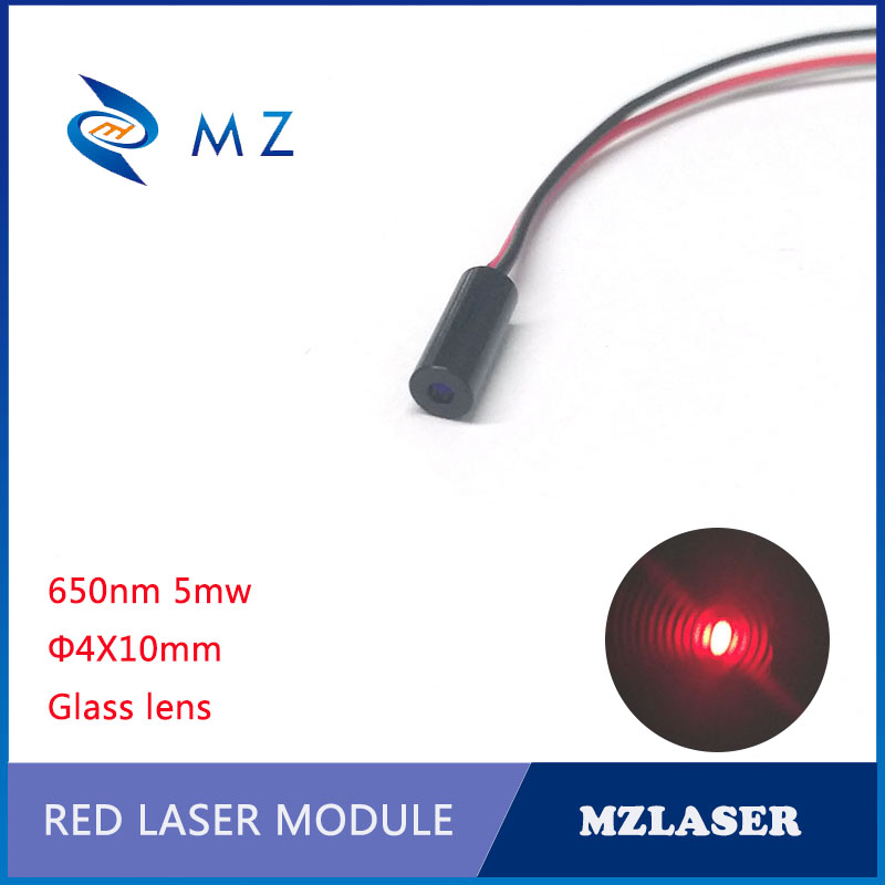 650nm 5mw Mini Laser Module Red Industrial Grade APC Driving Point Laser Module