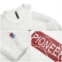 Pioneer Camp 2018 New Spring sweatshirt men brand clothing fashion male hoodies top quality casual tracksuit for men AWY702008 3