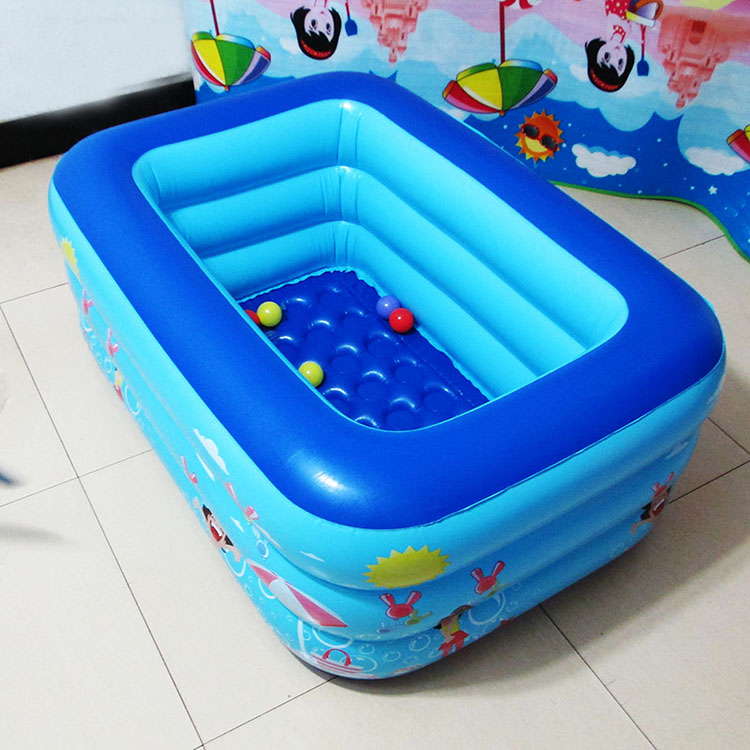 Home based baby pool baby pool inflatable toys small wading pool for ...