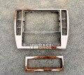 2 PcS para VW Passat B5 Traço Centro Console Trim & A/C de Controle do Aquecedor guarnição Bezel Set 3B0858069 1J0907047F 3B0 858 069 1J0 907 047F