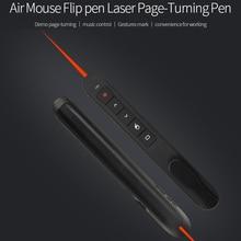 [Avatto] РФ 2.4 г Беспроводной ведущий с воздуха Мыши Функция PowerPoint Дистанционное управление PPT Clicker презентация указатель лазерная ручка
