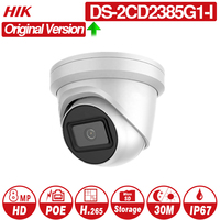 Hikvision Original IP Camera DS 2CD2385G1 I 8MP Network CCTV Camera H.265 CCTV Security POE WDR SD Card Slot