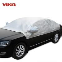 YIKA Car Sunshade Universal Car Covers Sun Protection In Cars Windshield Sun Shade Car Cape Heat