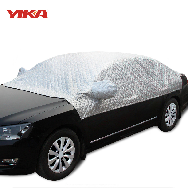 Outdoor Covers For Vehicles : Yika car sunshade universal covers sun protection