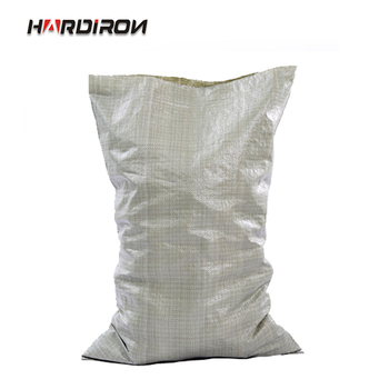 HARDIRON Wholesale Gray Woven Bag Moving Logistics Packing Construction Garbage Snake Leather Sack