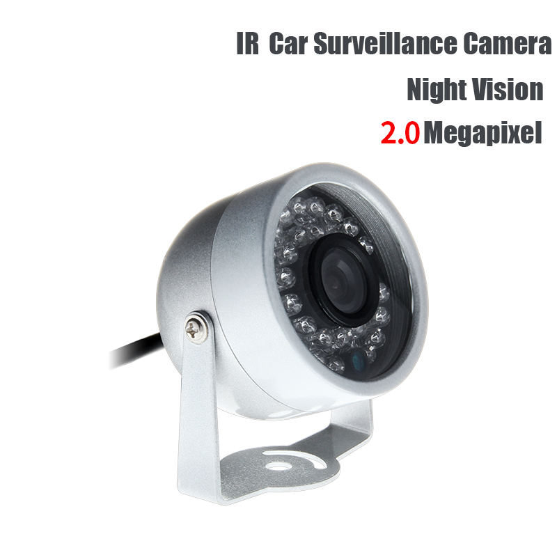 Free Shipping AHD 2.0MP Mini 1/3 CCD Sony Camera IR Night Vision Indoor Waterproof for Vehicle Car Truck School Bus Vans DVR truck rear view camera 600tvl ir night vision waterproof 1 3 ccd sony mirror function 3 6mm for vehicle bus car boat security