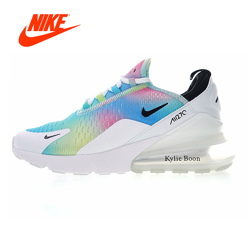 Original New NIKE AIR MAX 270 Women's Running Shoes Cushion Sneakers Women Outdoor Sneakers AH6789-700 носки nike elite running cushion qtr sx4850 010