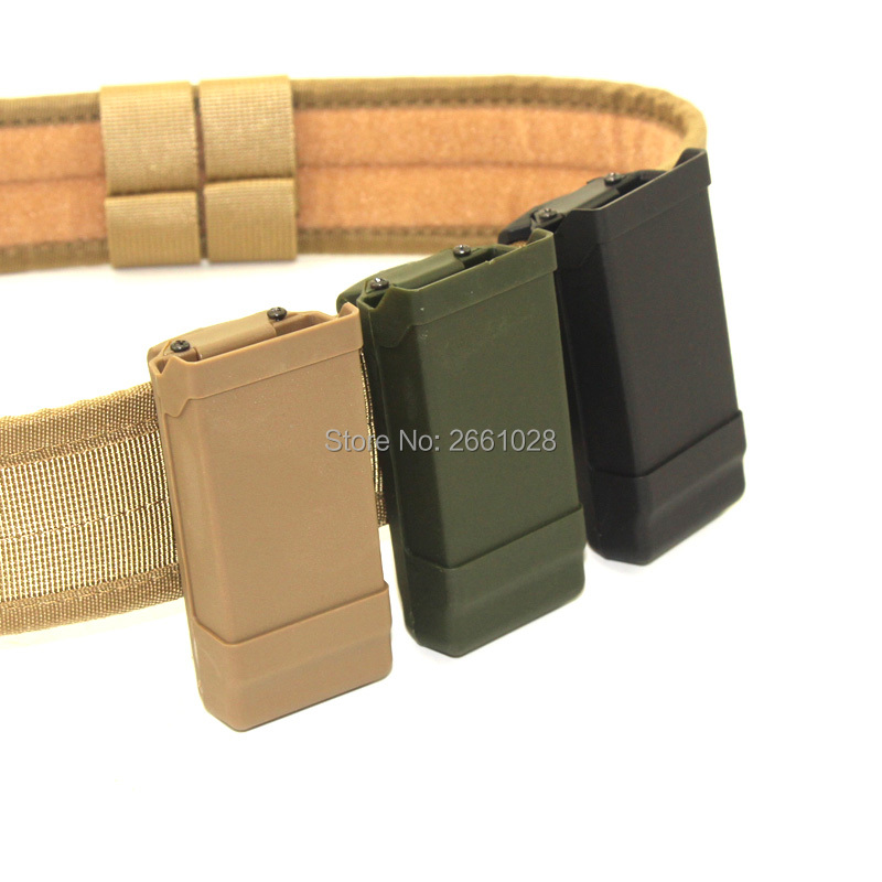 High Quality Airsoft 1911 Single Magazine Pouch Quick Draw Holster Magazine Left Right Handed Tactical Clip MAG Pouch image