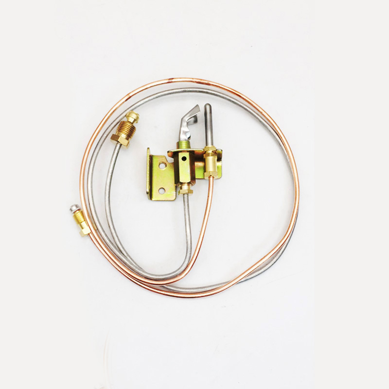 Earth Star 1Piece Water Heater PILOT Burner With PILOT Thermocouple And Pipe LP Propane Universal Screw Thread