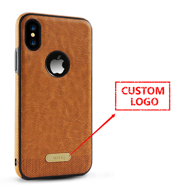 best sneakers 79d9d 3632c US $139.0 |50 pcs Wholesale custom made for luxury leather case for iPhone  7s 7splus 8 with printing logo on the case -in Phone Bumper from Cellphones  ...