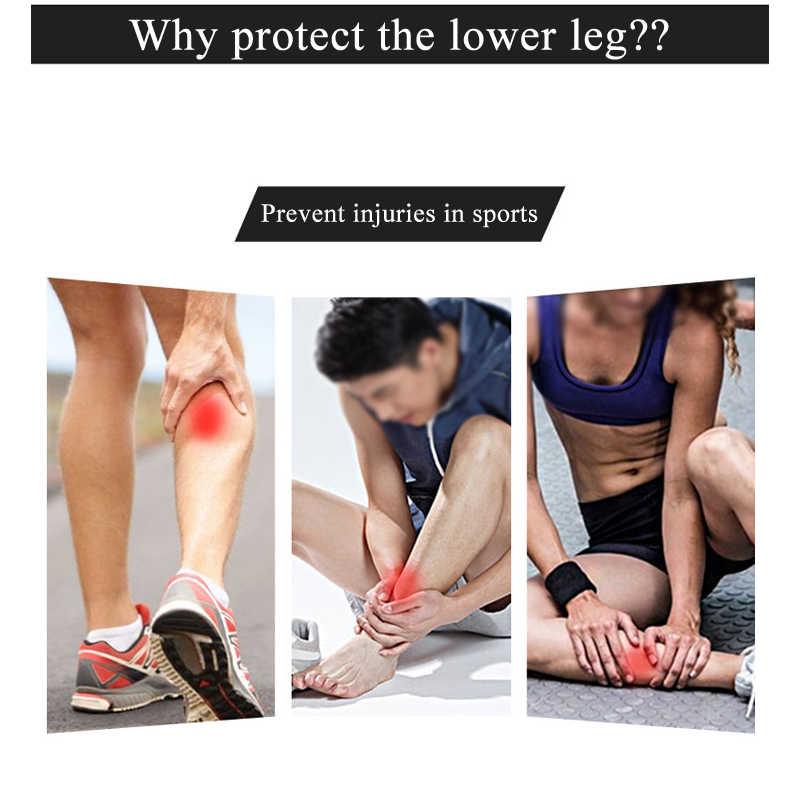 1Pcs עגל דחיסת שרוולים לגברים נשים רגל ושין דחיסת שרוולים לרצים רוכב אופניים שין סד, זרימת דם