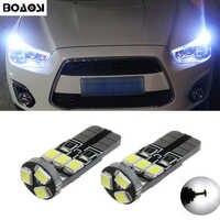 BOAOSI 2x Canbus LED T10 W5W Freiheit Standlicht Keil licht Für Mitsubishi asx lancer 10 outlander 2013 pajero l200 Expo