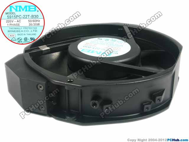 NMB-MAT 5915PC-22T-B30, A00 AC 220V 35W 170x170x38mm Server Round fan free shipping nmb cooling fan 3610ps 22t b30 220v instrumentation axial 92 92 25mm page 8