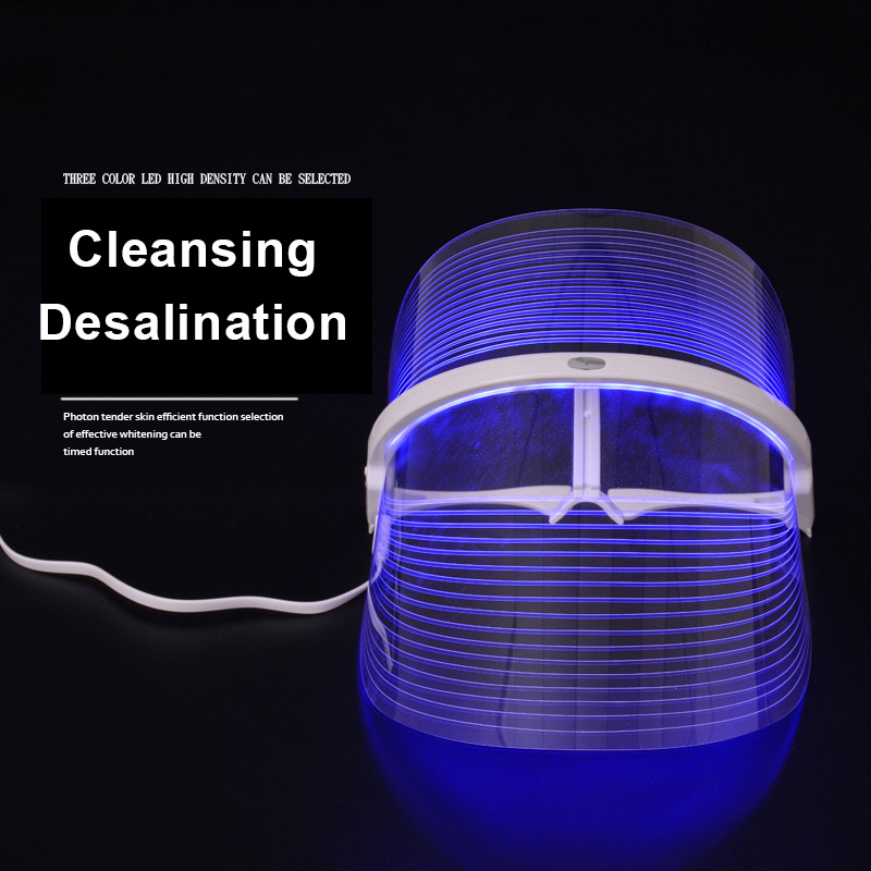 Constructive Led Face Beauty Instrument Wrinkle Removal Facial Skin Face Care Cleansing Whitening Facial Beauty Mask Instrument 50% OFF Face Skin Care Tools Beauty & Health