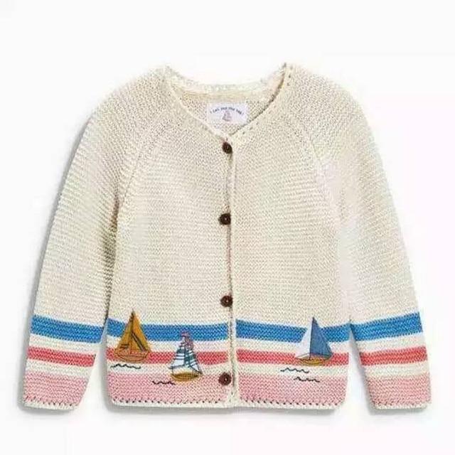 386e369e6308 2016 New autumn girl Baby sweater Girl cardigan sweater Full Sleeve ...