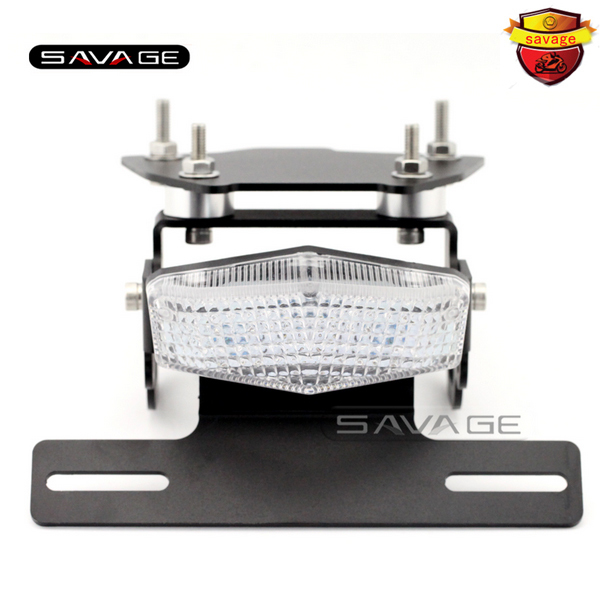For HONDA NC700 NC750 S/X 12-15 Motorcycle Tail Tidy Fender Eliminator Registration License Plate Holder Bracket LED Tail Light for suzuki gsxr1000 2007 2008 motorcycle licence plate bracket tail tidy rear fender eliminator billet aluminum