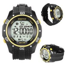 XWatch Bluetooth 4,0 Smart Uhr Wasserdichte Smartwatch Armbanduhr Pedometer Fernbedienung Kamera Sport Armband Für iOS Android Männer