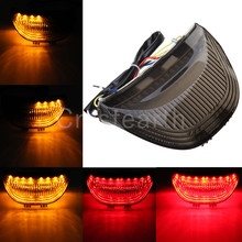 Светодиодный Интегрированный задний стоп-сигнал светильник с отложным воротником сигналы задние фонари для Honda CBR600RR CBR 600 RR 03 04 05 06 CBR1000RR 04 05 06 07