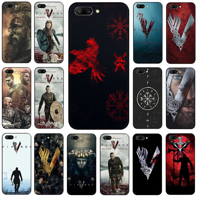 Vikings Serie Soft Silicone phone case for Huawei Honor 6A 7A Pro 7C 7X 8 9 10 Lite 8X 8C view 20 9X Pro