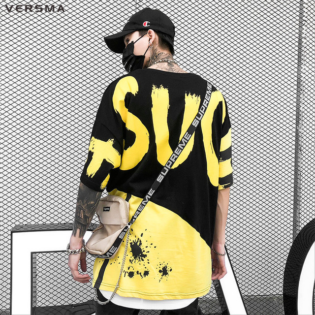 Londoners Punk Letter Printed T-shirts Men Women Summer Hip Hop Streetwear BF Oversized Tshirt Dropshipping Bullet Cheetah